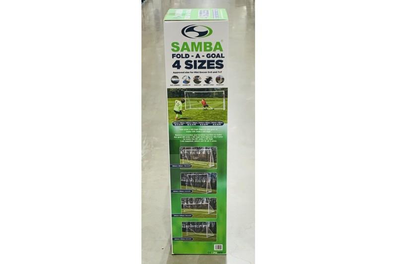 Samba Fold A Goal Multi Size 12x6 8x6 /& 8x4ft 12x4
