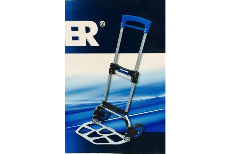 ToolMaster Folding Sack Truck 159kg Capacity Hand Cart Fold Away Tool Master