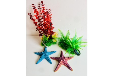 Bundle 2 : Fish tank ornaments
