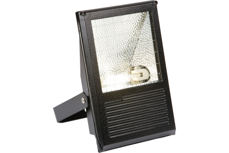 Die-Cast Aluminium HQI Floodlight IP54 70W KES70HQI BLACK