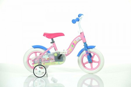 "Peppa Pig 10"" Kids Bike Bicycle DINO Bikes 108L-PIG"