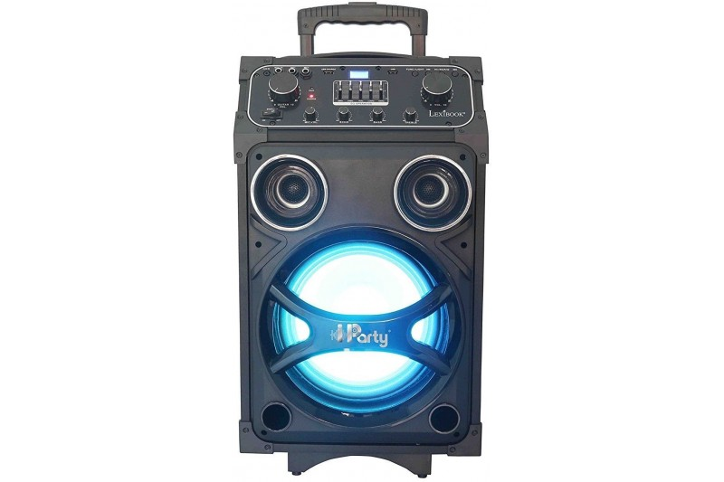 Lexibook - Bright K8200 Bluetooth Karaoke Speaker iParty With Lights