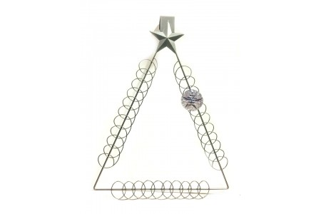 Metal Over The Door Hanging Card Holder Holds 33 Cards
