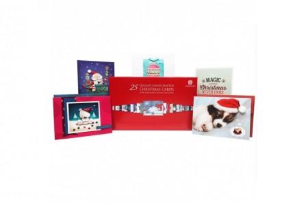 Christmas Cards with Matching Envelopes Burgoyne 25 Elegant Hand Crafted
