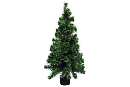 5ft 150cm Colour Changing Fibre optic Christmas tree with stand