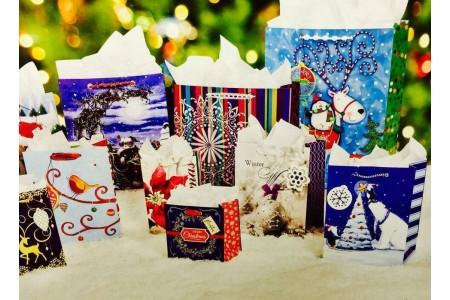 Christmas Gift Bag Assortment 15 Pack