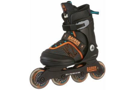 K2 Skate Raider Pro Pack – Unisex Inline Skates Red / Grey Size 1-5