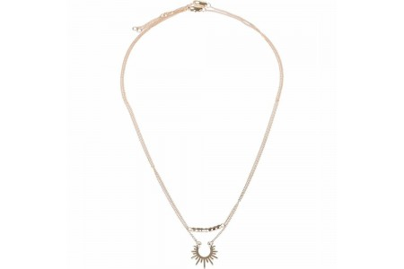 PIECES Necklace Pc Nohr One Size Gold