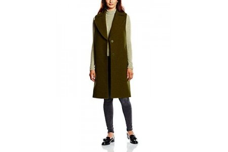 Gestuz Womens Marlow Sleevelss Winter Coat RRP £239.00