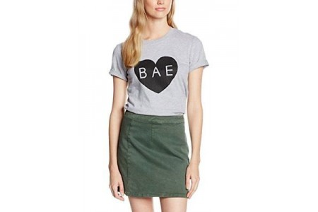 Boohoo Isla Bae T-Shirt Grey