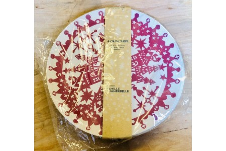 Bamboo Winter Plates 18cm Pack of 4