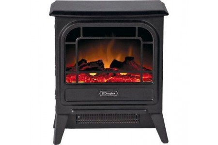 Dimplex 1.2Kw Electric Freestanding Micro Stove Black Cast Effect Argos £84.99