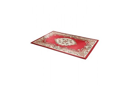 House of Bath 100% Wool Rug Wine/Red RRP £69.95