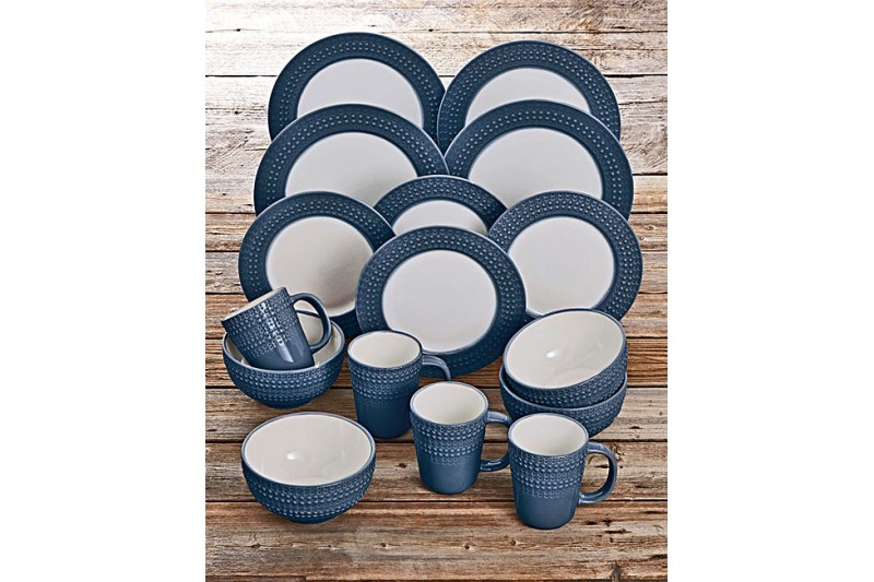 sc 1 st  Liquidated Goods & Denby Intro Dark Blue 16 Piece Dinner Set