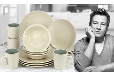 Jamie Oliver Essential 16 Piece Crockery Set