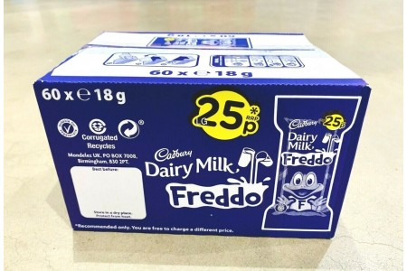 Cadbury Freddo Bar 60 x 19.5g Full Sealed Box Chocolate Sweets