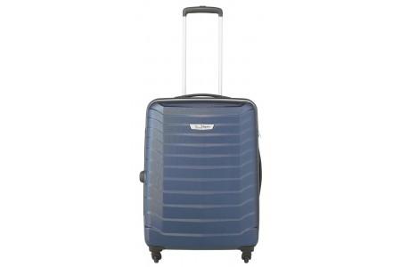 Go Explore Hard 4 Wheel Medium Case With TSA Lock - Navy