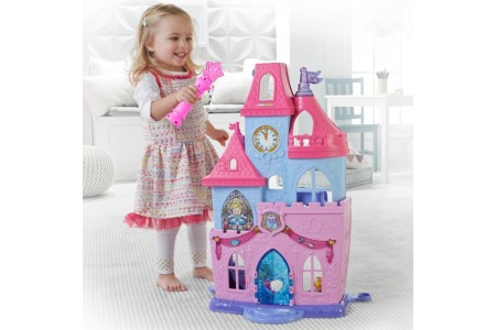 Fisher Price Little People Disney Princess Magical Wand Palace Castle Playset