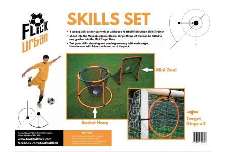 Football Flick Urban Skills Set Football Black/Orange