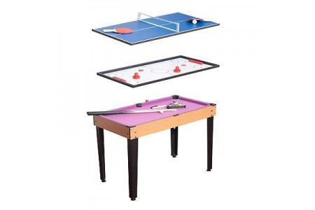 3 in 1 Multi Games Table Billiards Pool Table Tennis Hockey Table