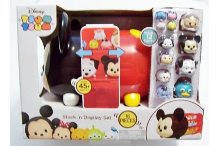 Disney Tsum Tsum Mickey Mouse Collector Case + 12 Tsum Tsum Figures