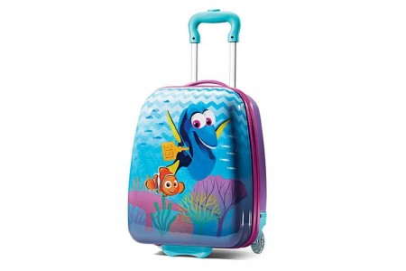 """Disney Finding Dory 18"""" Hardside Rolling Suitcase by American Tourister"""