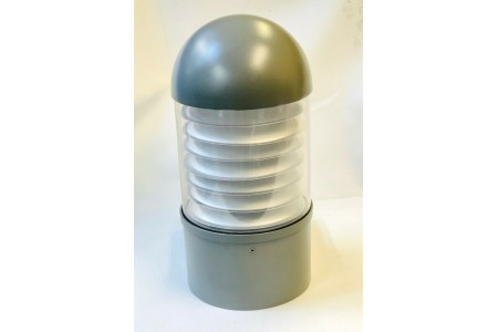 Aurora AU-LTN/HS50SS IP54 Fixed Domed Fluorescent Outdoor Wall Light