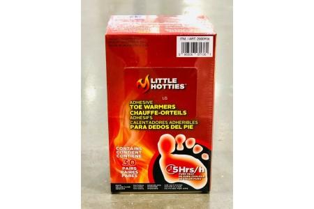 Little Hotties Toe Warmers 30 Pair Pack Natural ingredients 5-8 hours of heat