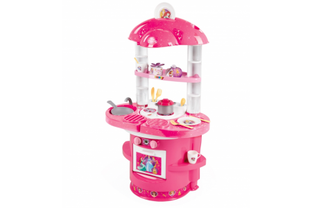 Disney Princess My First Kitchen Pink 17 Accessories Cook Disney Princess Smoby