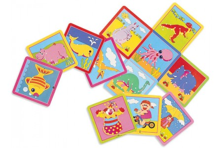 Lacing Cards 12 Pieces 12 laces 16 x 16cm EDX Education