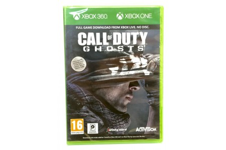 Call of Duty: Ghosts (Xbox 360 & Xbox One) NO DISC DOWNLOAD CODE