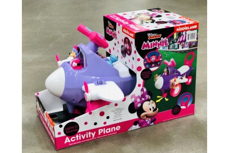 Disney Junior Minnie Mouse Activity Plane Ride on by Kiddieland