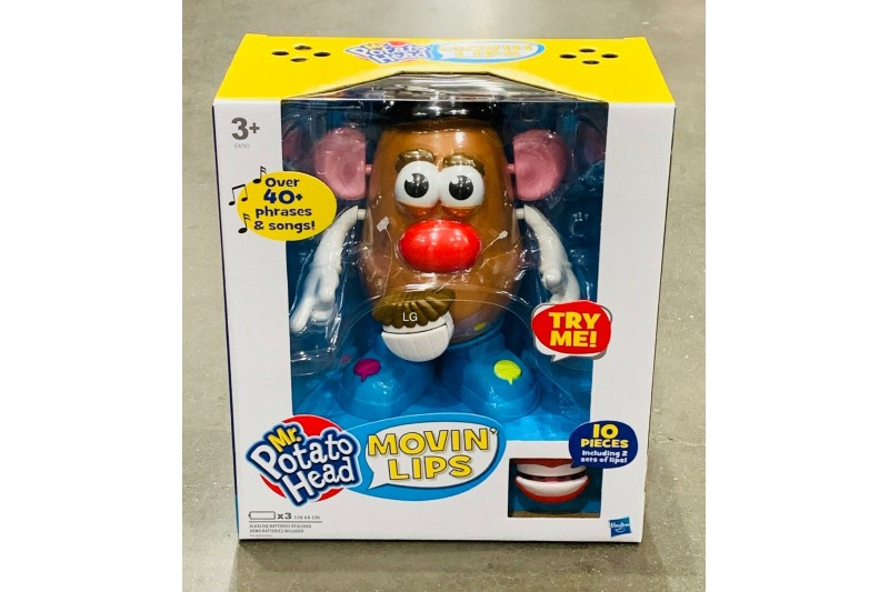Mr Potato Head Moving Lips Hasbro 40+ Phrases & Songs