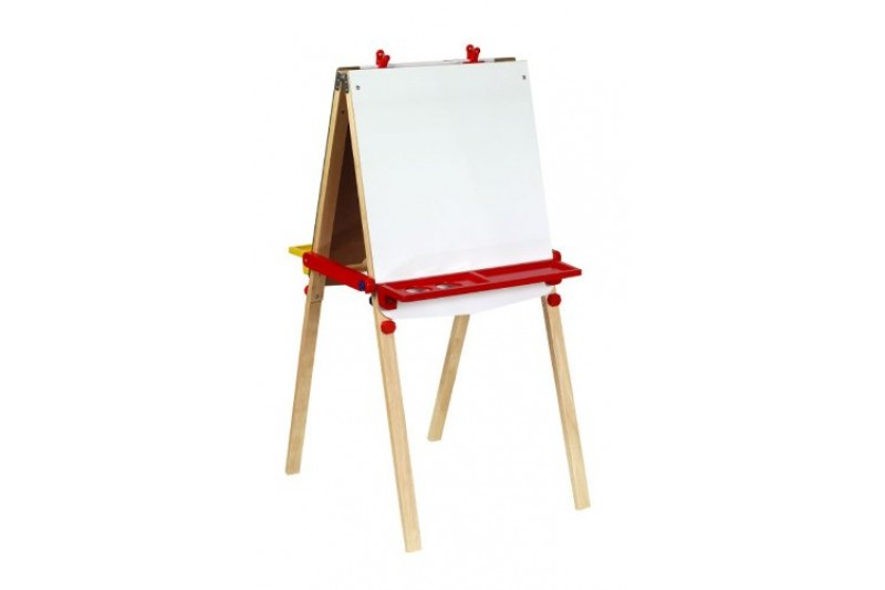 Santoys - Wooden Toys - Educational - Easel Including Paper Roll 95344