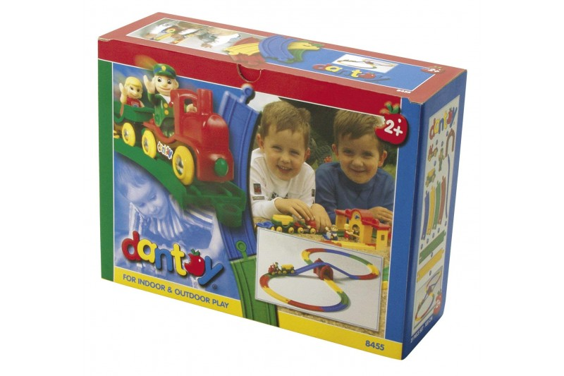 Dantoy - Vehicles - Train Set 21 Pieces
