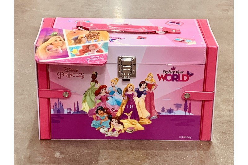 Disney Princess Make Up Case Set Beauty for Girls Dress Up