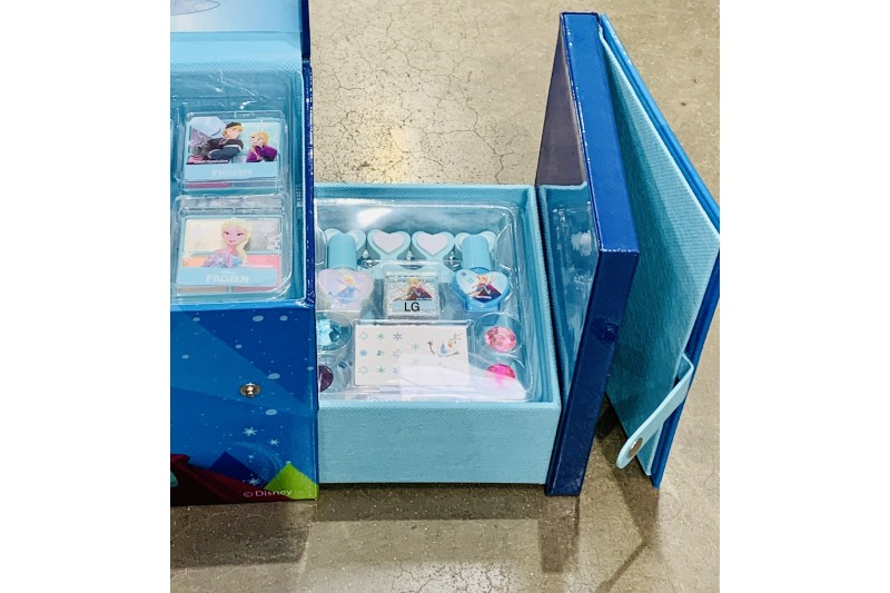 Disney Frozen Make up Case Set Beauty for Kids Girl Glamour