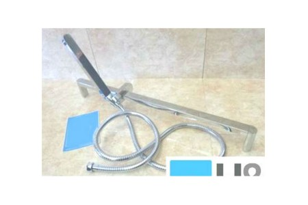 Shower Unit Bathroom Riser Rail + Handset+ Concealed Adaptor RRP £249