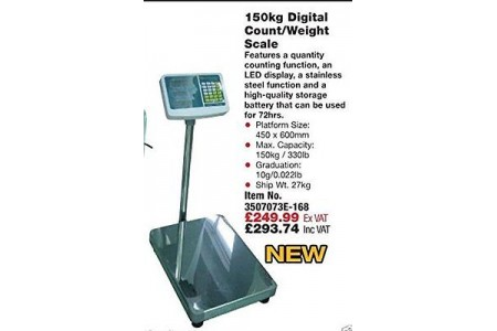 Digital Count Electronic Counter top Weighing Scales Northern Tools 3507073E