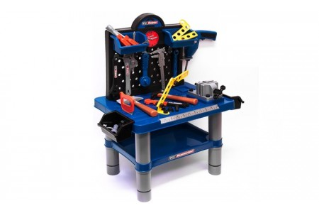 54 Piece Work Tool Bench Children Play set