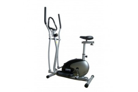 Buyer empire 2 in 1 magnetic Elliptical Cross Trainer and Exercise Bike  RRP £299.99