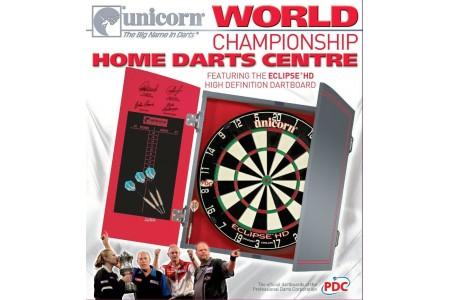 Unicorn World Championship Home Darts Centre Eclipse HD Dartboard