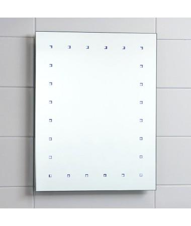 Cavalier LED Illuminated Bathroom Mirror Battery Powered